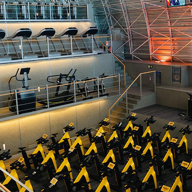 Todo lo que necesitas para entrenar en un mismo lugar. Conoce el espacio fitness más completo.