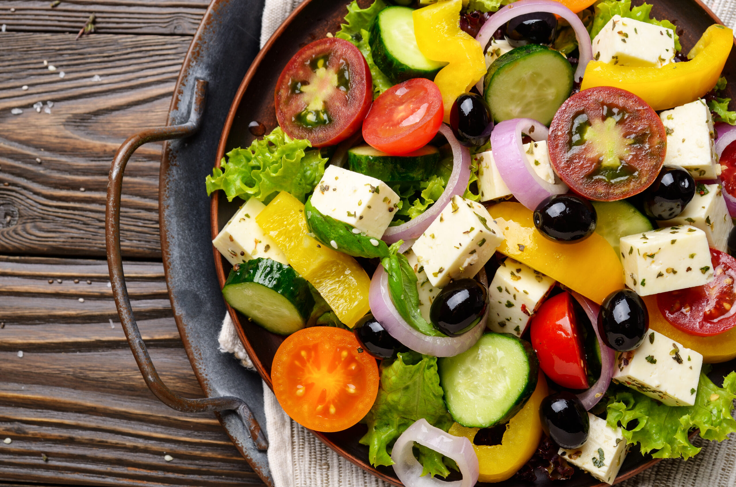 Cómo llevar una dieta equilibrada a través de los colores.